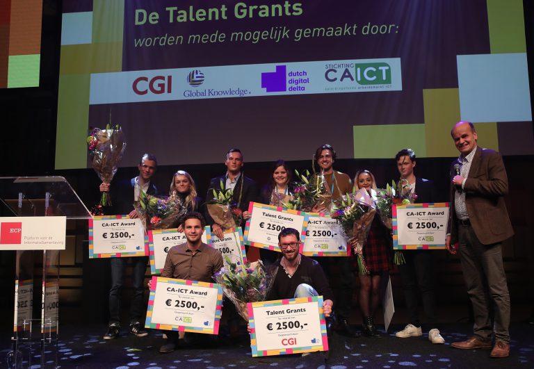 Talent wordt gewaardeerd! 16 studenten namen op het Jaarcongres ECP een studiebeurs in ontvangst