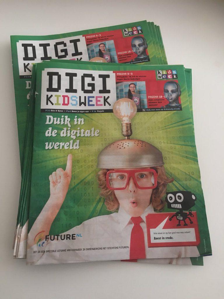 Spectaculaire samenwerking Kidsweek en FutureNL
