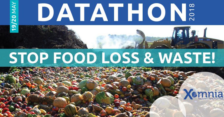 Aftermovie Stop Food Loss & Waste Datathon (2018)