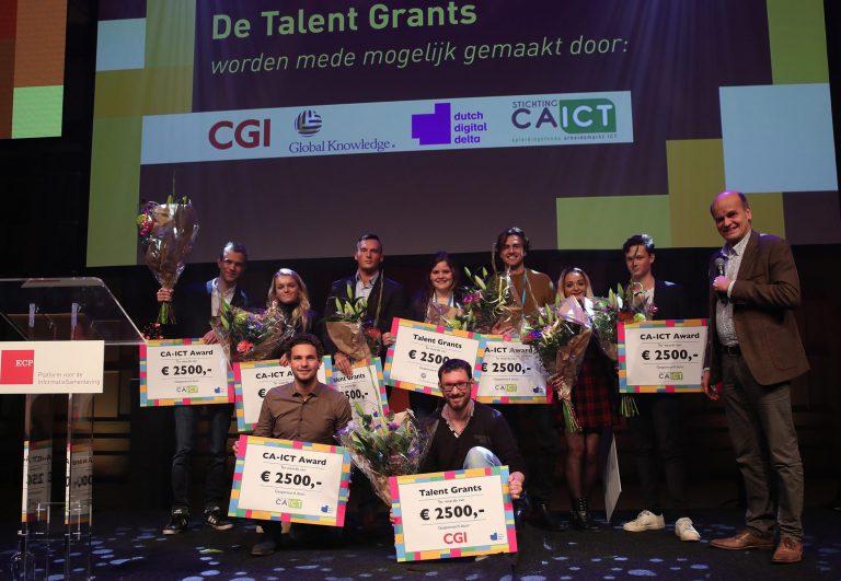 Winnaars van een CA-ICT award